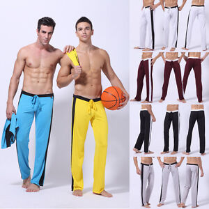 Men/'s Sport Long Tight Base Layer Pants Gym Elastic Running Trousers With Pocket