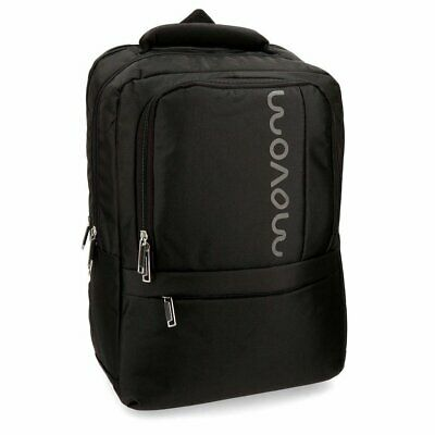 Zaino Backpack Manhattan MOVOM Nero Black Blu Blue Donna Woman Uomo Men 31x44x15