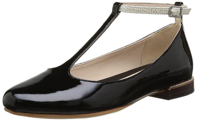 Zapatos de Cuero UK Clarks Negro Festival Glee Combi Talla UK Cuero 4 D 22f9ce