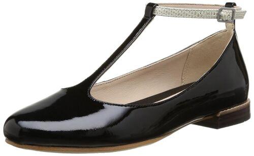 Size Glee Festival Shoes Leather Clarks Black Uk Combi D 4 vYnwxx