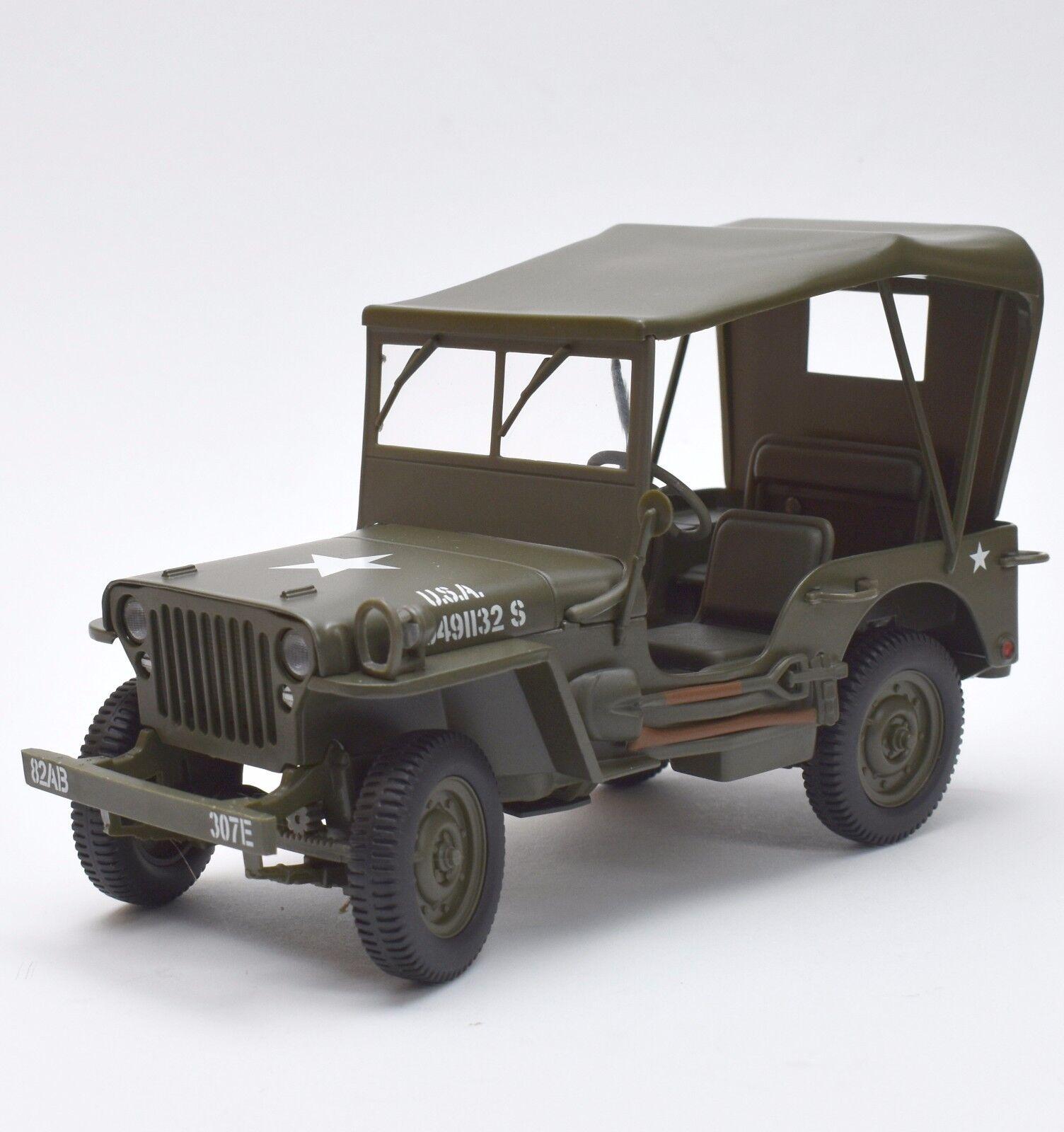 UT UT UT Jeep Willy`s USA Militär Geländewagen , OVP, 1 18, K014    Beliebte Empfehlung  5af539