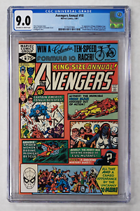 AVENGERS ANNUAL #10 CGC 9.0 1ST APPEARANCE ROGUE BRONZE AGE MARVEL COMIC