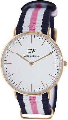 Daniel Wellington Women's Southampton 0506DW Blue Nylon Quartz Watch