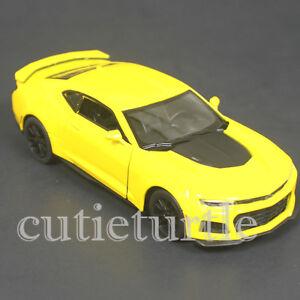 Kinsmart 2017 Chevy Camaro Zl1 1 38 Diecast Toy Car Kt5399d Yellow