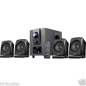 Intex 4.1 MultiMedia Speaker System IT-2616N SUF ( With FM&USB,MMC/SD)