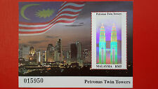 1999 Malaysia Miniature Sheet - Petronas Twin Towers