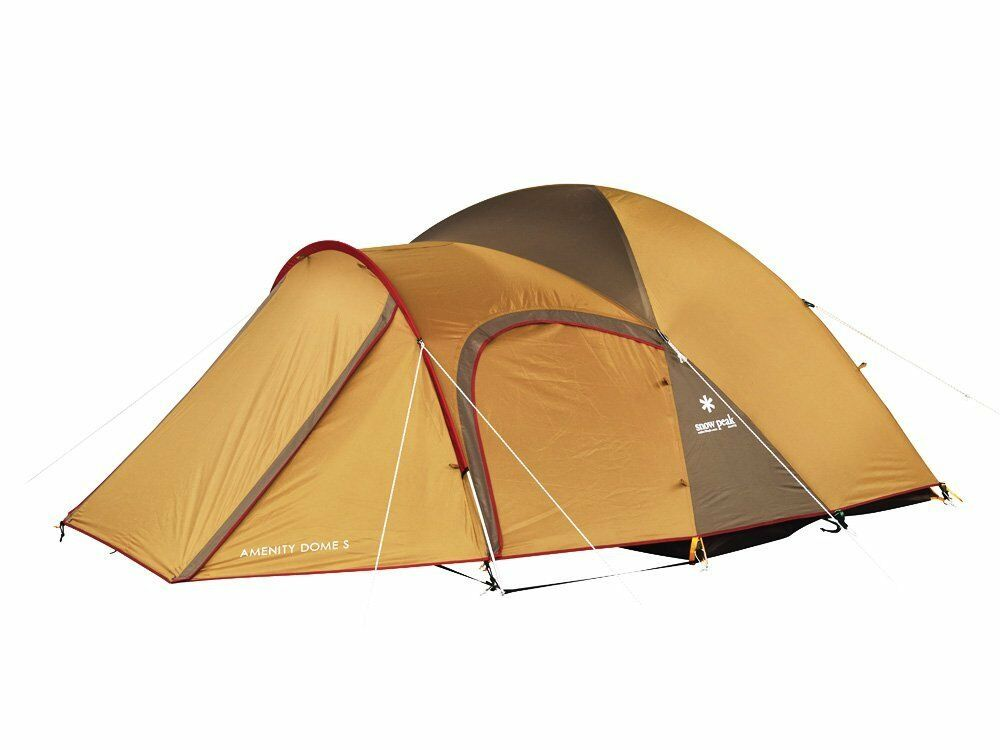 Genuine Snow Peak AMENITY DOME S TENTS SDE-002R 3 Person Camping From Japan