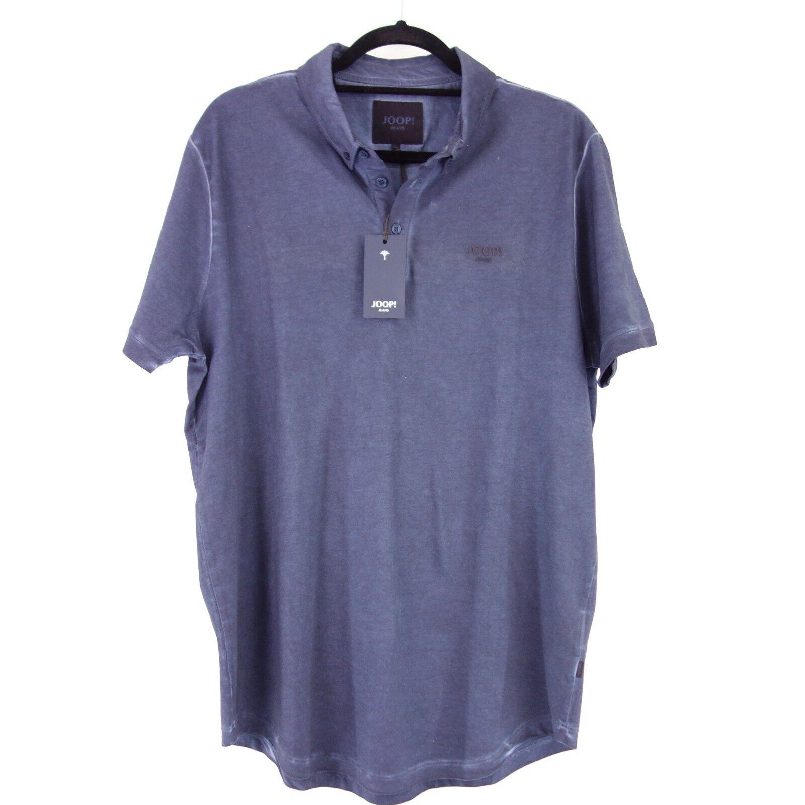 JOOP  Herren Poloshirt Shirt ADONIS Gr XL Blau Baumwolle Elasthan NP 89 NEU  | Won hoch geschätzt und weithin vertraut im in- und Ausland vertraut