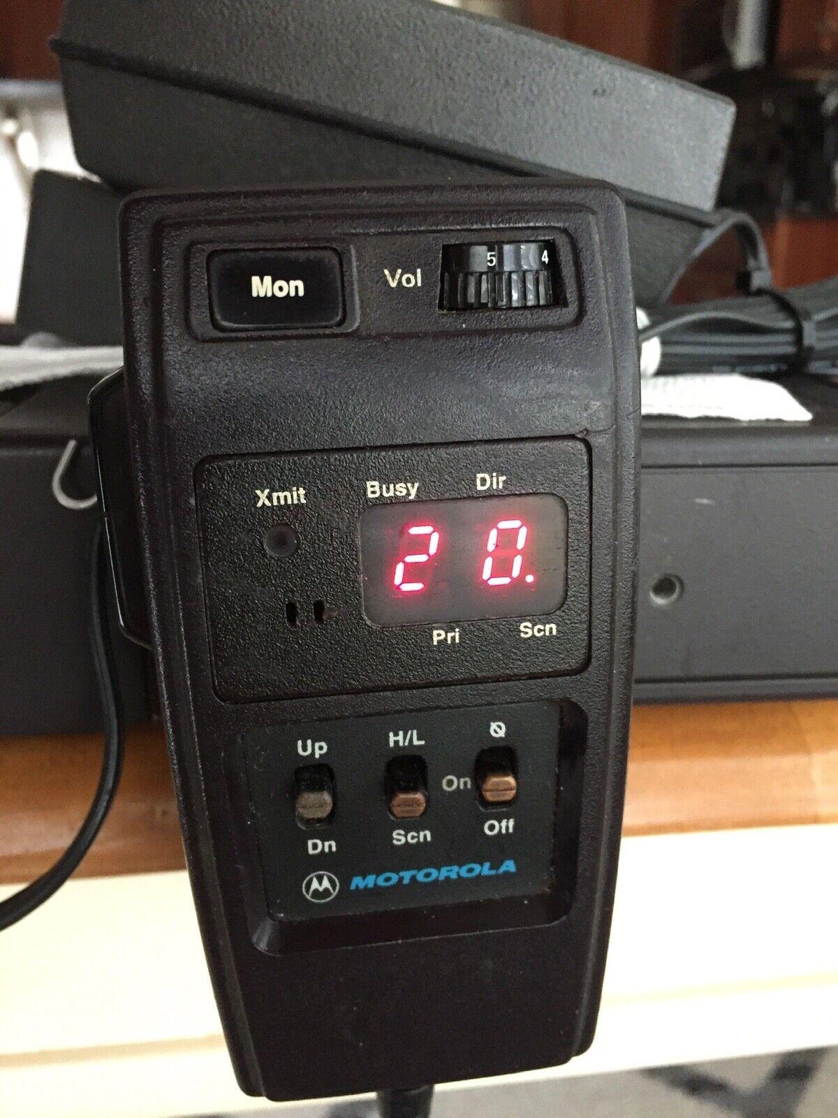 Motorola Spectra A3 VHF 50watt Mobile Radio 136-174 MHz D43KXA7JA3BK HHCH Model. Buy it now for 99.00