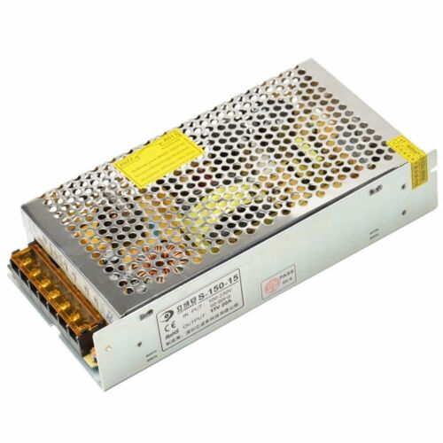 AC To DC15V 3A//5A//10A//20A//30A Switch Driver Power Supply Monitor Centralized LED