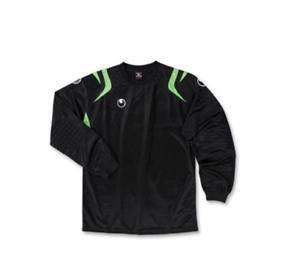 New Uhlsport CLUB GK Top Shirt Professional Soccer Goalkeeper Jersey BLACK XL