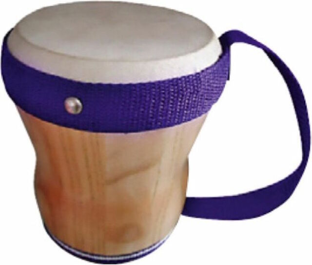 Mano Percussion Non-Tunable Cuban Drum with Purple Handle UE799 hand drum
