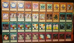 Rainbow Dragon Jesse Anderson Complete Deck 40 Cards NM Crystal Beast Ruby