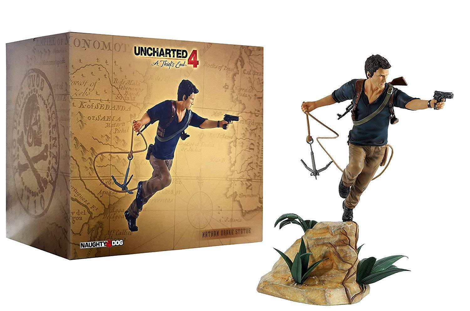 Naughty Dog Nathan Drake PVC Statue Uncharted Uncharted