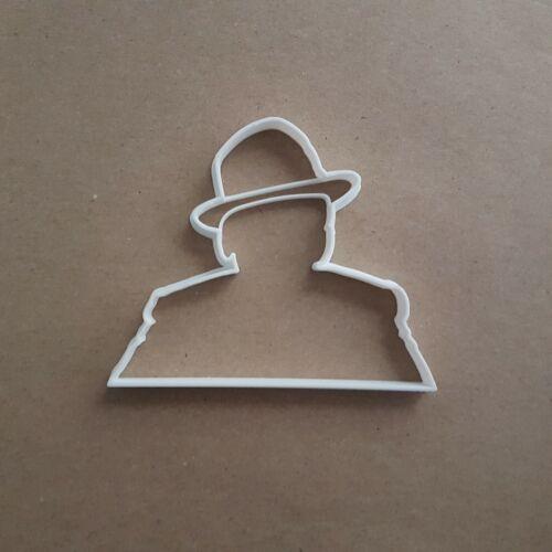 Frank Sinatra Portrait Shape Cookie Cutter Dough Biscuit Pastry Fondant Stamp