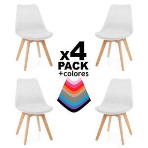 Pack-4-sillas-de-comedor-silla-diseno-nordico-con-asiento-acolchado-Beench