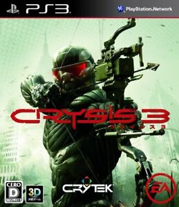 Used Ps3 Playstation 3 Crisis 3 20963 Japan Import 4938833020963