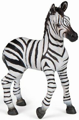 Educational Sincere Zebra Foal Replica # 50123 ~ Usa W Papo Products
