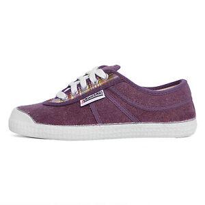 Kawasaki DEV04 scarpe sneakers canvas tela canvas viola quadri check purple KifMf5jDnF