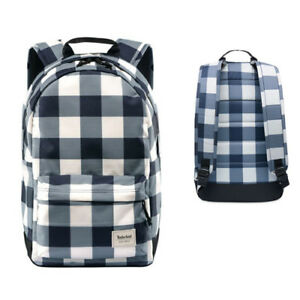 7884636e78c Image is loading Timberland-Crofton-22L-Water-Resistant-Checkered-Backpack -A1LR2-
