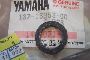 YAMAHA-DT250-DT400-IT250-IT400-GENUINE-SUMP-BOLT-GASKET-137-15353-00