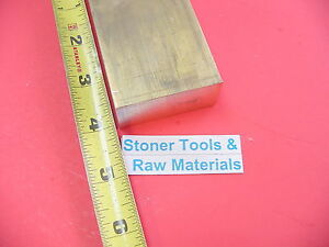 "2 Pieces 3//8/"" x 1/"" C360 BRASS FLAT BAR 12/"" long Solid Mill Stock H02 .375/""x 1.0/"""