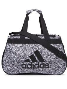 fefcf40eee58 NWT ADIDAS DIABLO SMALL DUFFEL Gym Bag For Women Men Big Boy Grey ...