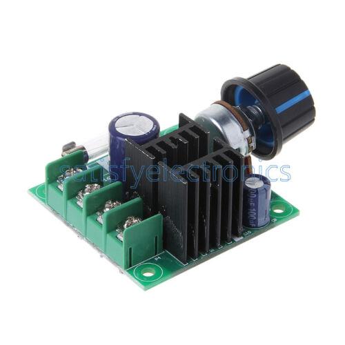 10A 9V~50V  PWM DC Motor Speed Control Switch Controller Volt Regulator Dimmer