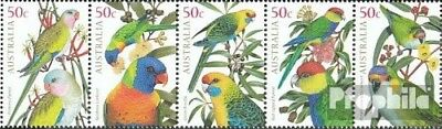 Never Hinged 2005 Parrots For Fast Shipping Topical Stamps Strong-Willed Australia 2407-2411 Five Strips Unmounted Mint Other Australian Stamps