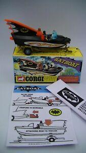 Corgi-cohetes-y-remolque-107-Vintage-1967-Original-1st-Edicion-Casi-Nuevo-En-Caja