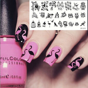 BORN-PRETTY-BP-L019-Nail-Art-Stamping-Image-Plate-Template-Lovely-Owl