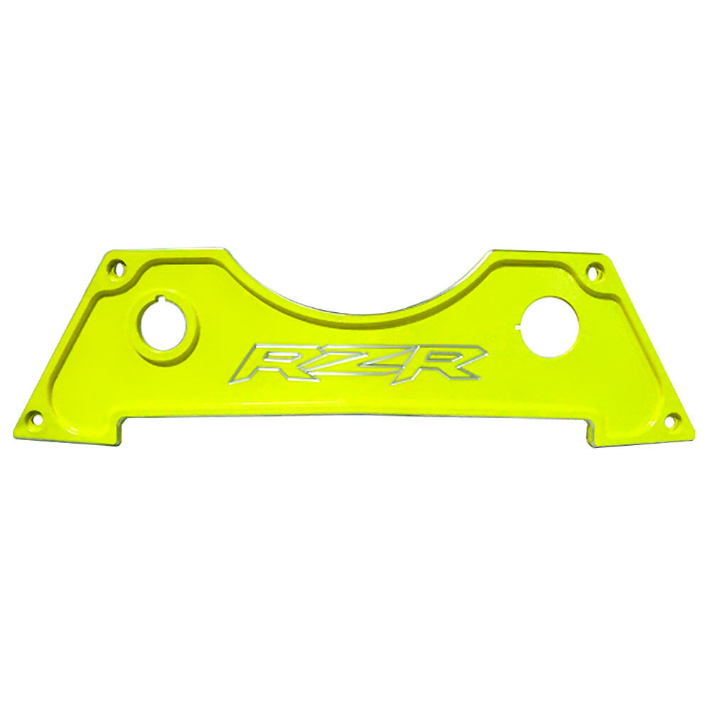 Center Dash Panel Plate Powder Coated Lime Squeeze fits Polaris RZR Trail 900 XC
