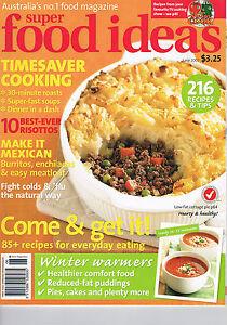 SUPER FOOD IDEAS - Issue 82 - June 2007