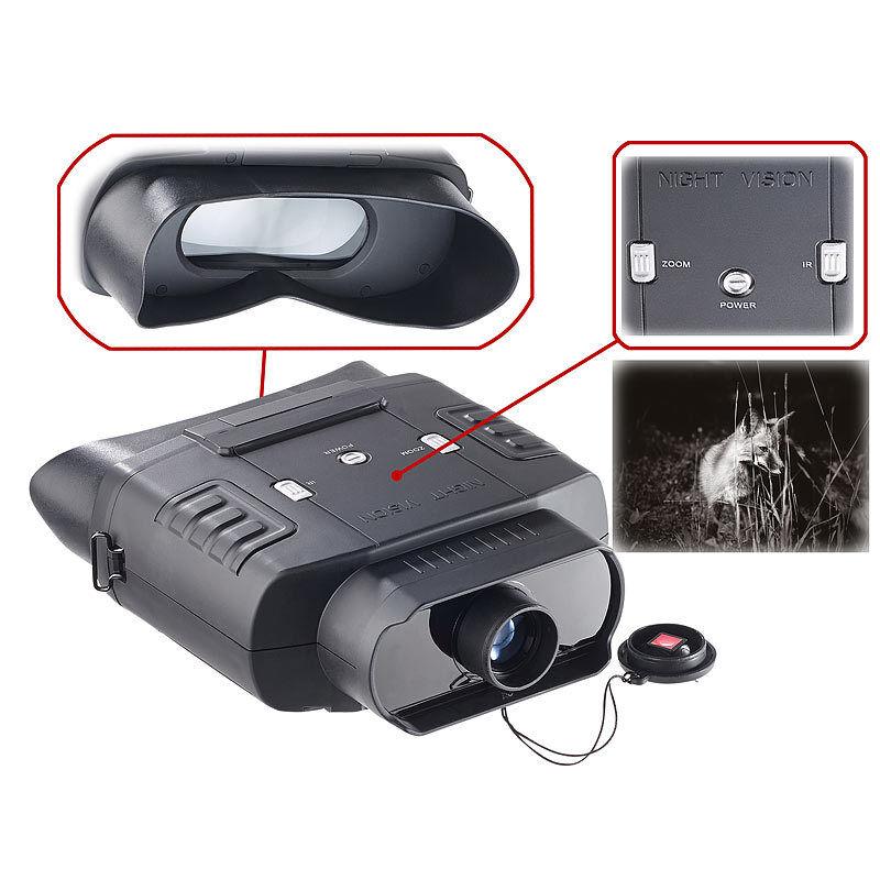 Zavarius Digitales Nachtsichtgerät DN-600, Binokular, Binokular, Binokular, bis zu 300 m Sichtweite 697d47
