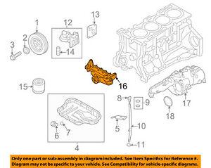 hyundai oem 10 14 genesis coupe engine oil pump 213102c001 ebay genesis coupe engine bay diagram image is loading hyundai oem 10 14 genesis coupe engine oil