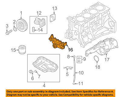 HYUNDAI OEM 10-16 Genesis Coupe Engine-Oil Filter 263003C701