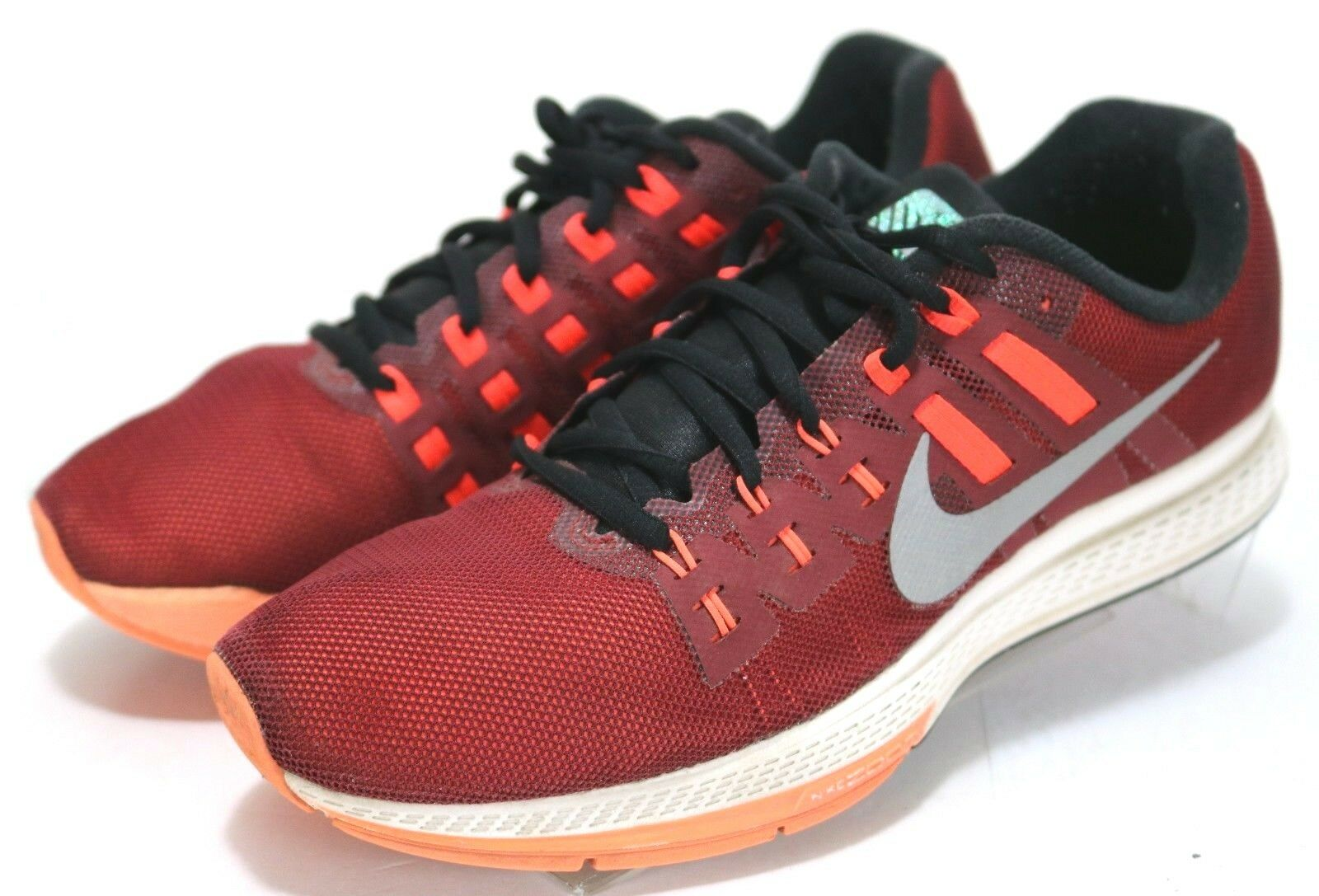Nike Zoom Structure 19 Flash  85 Men's Running shoes Size 8.5 H2O Repel Red