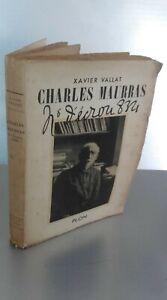 Xavier Vallat Charles Maurras N° Dado 8.321 Plön 1953 Spilla Be
