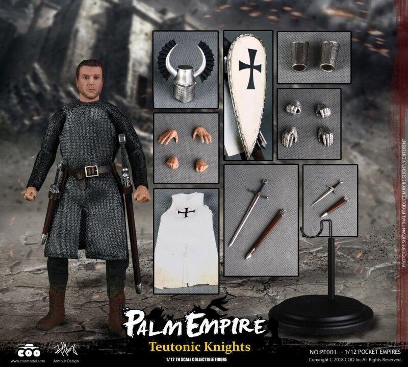 COOMODEL NO.PE001 1 12 Scale Palm Empire SeriesTeutonic Knights Acción Figura