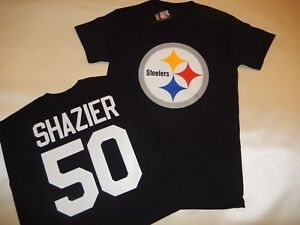 info for 61858 e7db1 Details about 7817 MENS Pittsburgh Steelers RYAN SHAZIER