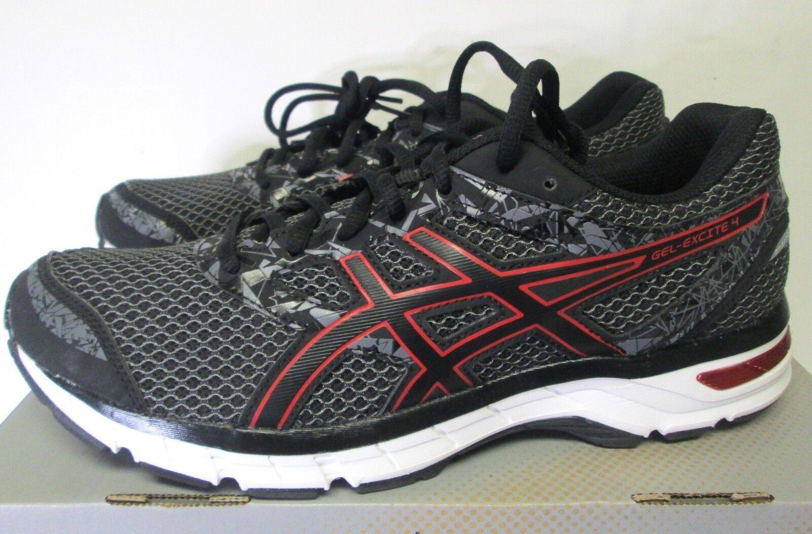 Para Hombre Zapatos Asics Gel Excite 4  Sz 8.5 Negro Rojo T6E3N 9023  nuevo   gran descuento