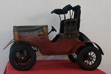 Custom Made Antique Metal & Wood Wooden Ford Model T/A Model Car Autombie Large