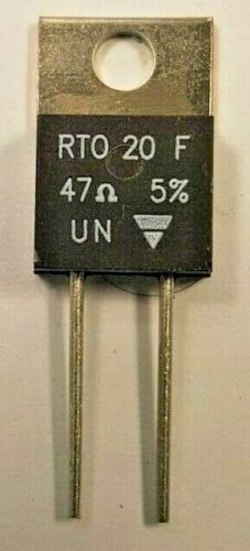 Thick Film Resistor Vishay RTO 20 F 47Ω 5/%