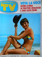 TV Sorrisi e Canzoni n°34 1973 Gilda Giuliani - Minnie Minoprio - Tognazzi [C71]