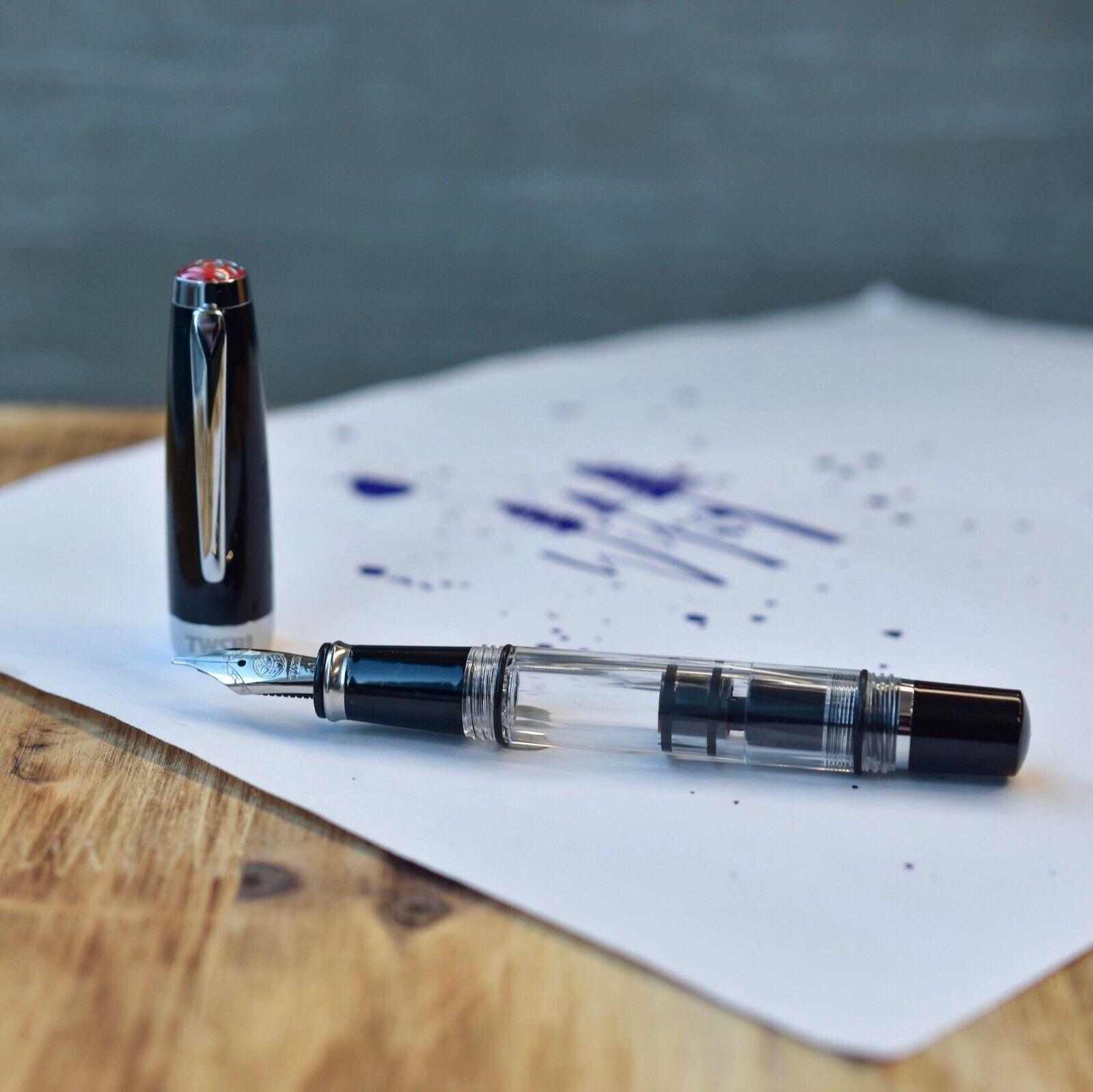 TWSBI Diamond Mini Clear Fountain Pen F nib