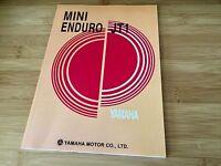 Yamaha Jt1, Jt1l , Mini Enduro, Service Manual