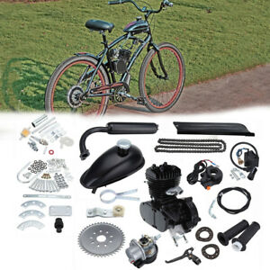 50cc-Motorised-Motorized-Bicycle-Push-Bike-2-Stroke-Motor-Petrol-Gas-Engine-Kit