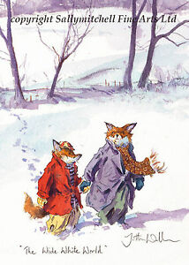 Wildlife Christmas Cards.Details About Funny Fox Wildlife Christmas Cards Pack Of 10 By Jonathan Walker C401x