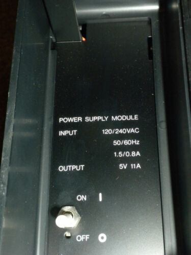 GE FANUC MODEL 70 POWER SUPPLY WITH RACK IC697CH5790D IC697PWR7106 Canister CASE