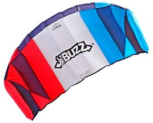 Flexifoil-Power-Lenkmatte-2-05m-Big-Buzz-Strand-Sport-Kite-Erwachsene-Kinder